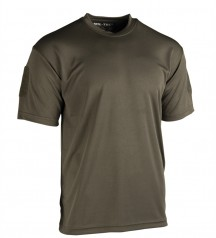 quickdry t-shirt oliv