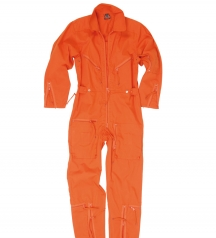 german army flight suit orange