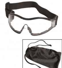 goggles with rubber