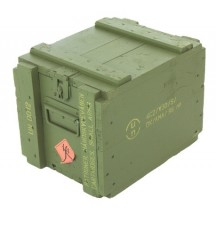 danish army ammo box