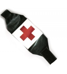 red cross black armband