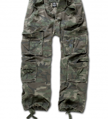 pure vintage cargo pants woodland