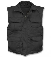 warm army vest
