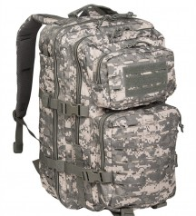 army backpack assault pack black
