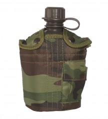army canteen with cup