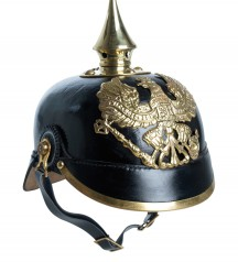 Preuss army helmet