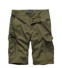Oliv green Vintage Industries shorts