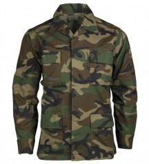 army bdu shirt woodland