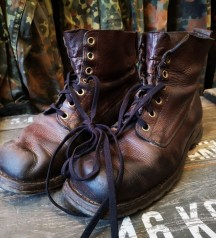 swedish army leather boots