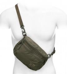 Cordura 500D shoulder waist bag oliv Task Force