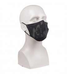 black face mask for protection against covid19 multicam black