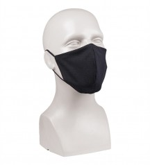 black face mask for protection against covid19