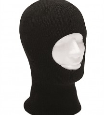 mask with one hole  black