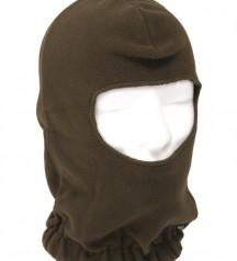 fleece face mask oliv